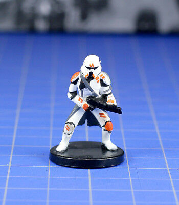 Star Wars miniatures minis Champions of the Force Utapau Trooper #38