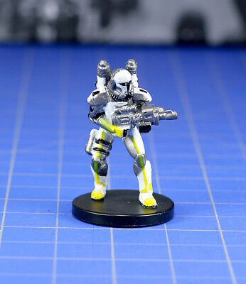 Star Wars miniatures Champions of the Force Republic Commando - Scorch #35