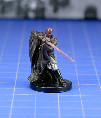 Star Wars miniatures minis Champions of the Force General Windu #26