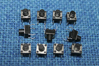 Momentary 6X6mm 3.5mm Tactile Push Button Switch SPST Mini Micro Small PCB.