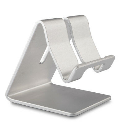 Premium Solid Aluminum Alloy Phone Holder for iPhone Samsung HTC Sony LG Huawei