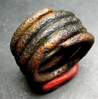 Ancient Viking Bronze Ring. (M5).Cleared.