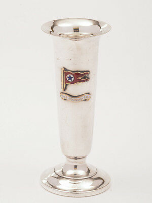 Silver Plated Posey Vase from SS Arandora Star, Circa 1920s
