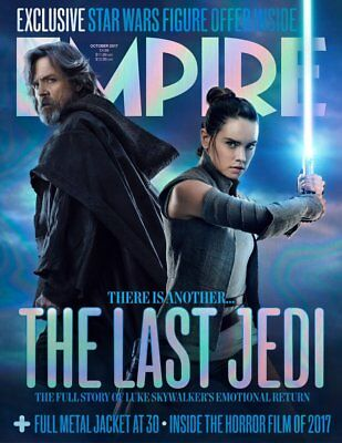 Empire Magazine October 2017 Star Wars: The Last Jedi - Rey & Luke Skywalker