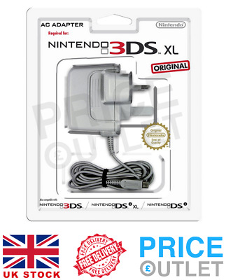 Official Nintendo 3DS XL Charger Power Adapter/Wall Plug - BRAND NEW (Z77)