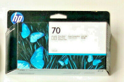 Original Ink HP DesignJet Z2100 Z3100 Z3200 Z5400 / C9449A no. 70 Photo BLACK