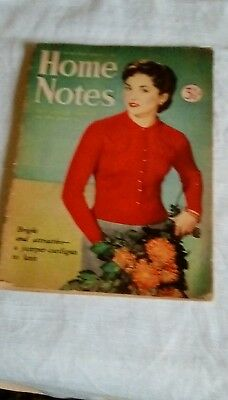 Home Notes magazine 1952