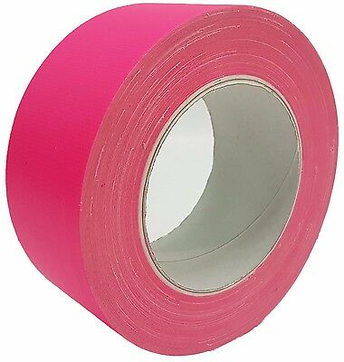 néon Gaffa ® bande scotch rose anti-UV 50mm x 25m Bande tissée BANDE Blindée