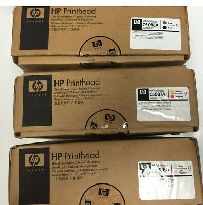 3 pcs PrinterHead HP Photosmart ML1000 PE1000 PM2000E / C5086A C5087A C5088A Set