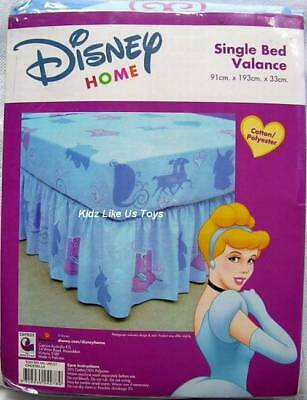 ~ Cinderella - SINGLE VALANCE BED SKIRT Twin