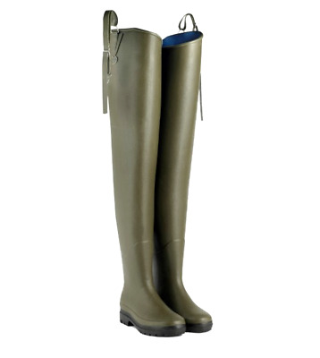 Le Chameau Deltanord Waders Thigh High Neoprene Wellington Boots