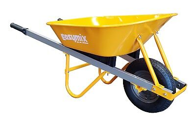 Wheelbarrow 80 Litre Steel Tray - BRAND NEW - Assembled and Delivered Free