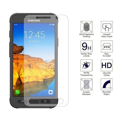2Pcs 9H Tempered Glass Screen Protector For Samsung Galaxy S5 S6 S7 S8 Active