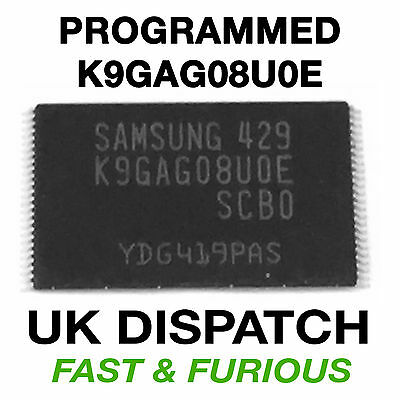 K9GAG08U0E SAMSUNG k9gago8uoe NAND UE32 UE37 UE40 UE46 D5500 D5700 TESTED 2