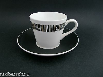 Royal Tuscan Retro Cascade Vintage Demitasse Coffee Cup Saucer Bone China c1960s