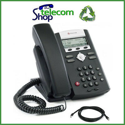 Polycom Soundpoint IP 331 VoIP Telephone in Black