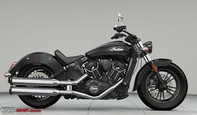 Indian Scout Sixty in Thunder Black