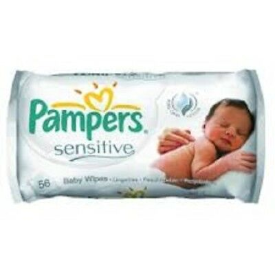 Pampers Baby Wipes Sensitive - 9x 56 Lingettes