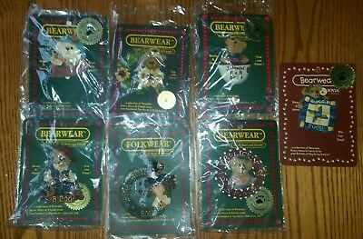 Lot of Boyds Bears Collector Pins