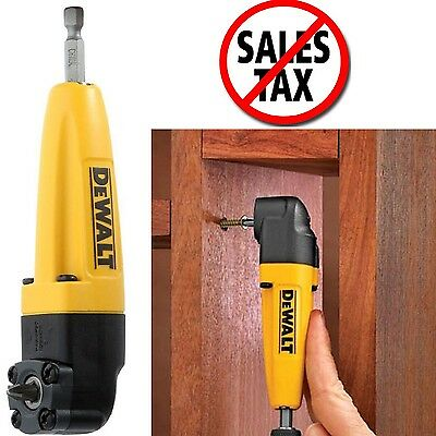 Dewalt Right Angle Drill Adapter Power Tools Corded Cordless Attachment Tight 1d