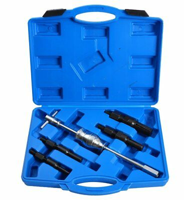 5pc Blind Hole Pilot Bearing Gear Puller Slide Hammer Removal Repair Kit