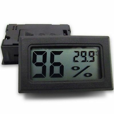 Mini Digital LCD Indoor Convenient Temperature Sensor Humidity Meter #128