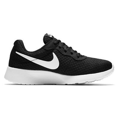NEW Nike Tanjun Women's Athletic Shoes in Black White SELECT YOUR SIZE