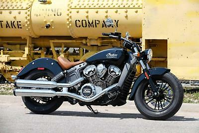 2018 Indian Scout in Thunder Black - 5 YEARS WARRANTY - 1 YEAR RAC COVER