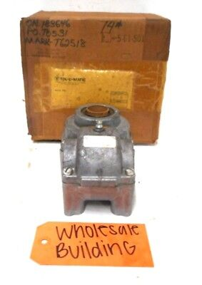 Tol-O-Matic, Float-A-Shaft Right Angle Gearbox Coupling, 02220200