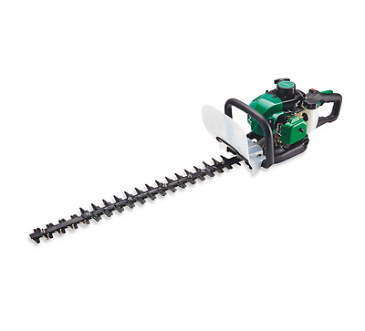 25cc Petrol Hedge Trimmer - 600mm cutting length - double sided - cuts 27mm