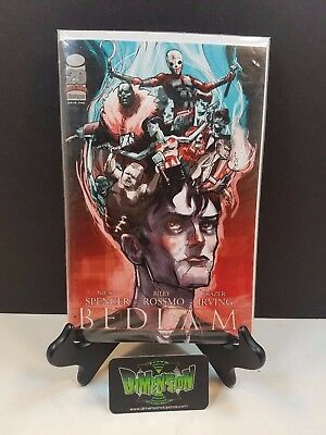 Bedlam #1 NYCC Variant NM Image Comics Spencer Walking Dead