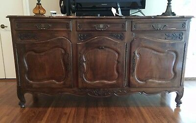 19th Century Antique French Buffet Sideboard - Authentic Excellent Condition