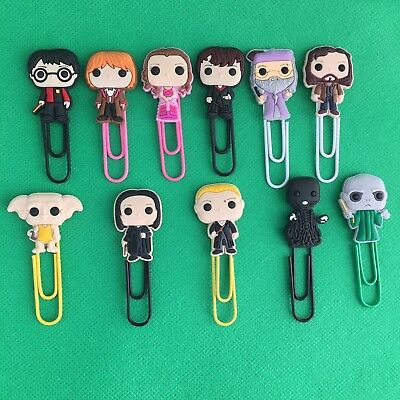 Harry Potter - Bobblehed Cartoon Bookmark Paperclip Hermoine - J K Rowling *NEW*