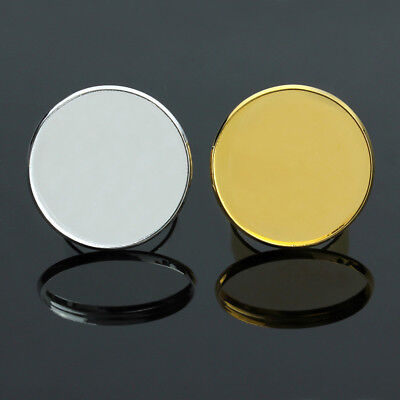 5pcs/lot Gold Plated Adjustable Blank Ring Base Fit 16/18/20/25mm Round Cabochon
