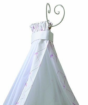 Nicolientje 700431 Bed Canopy 240 cm Pink