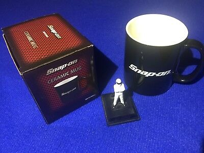 Official 2017 Snap On Ceramic Mug Cup in BLACK ideal Christmas Birthday gift NEW
