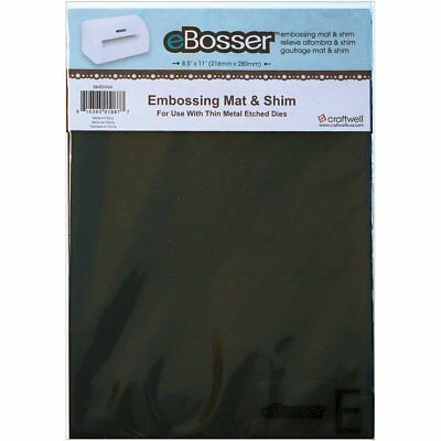 eBosser Magnetic Shim & Rubber Embossing Mat Die-Cutting Accessory Replacement
