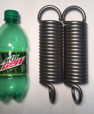 """.273"""" Wire Heavy Duty Extension Spring Lot Of 2"""