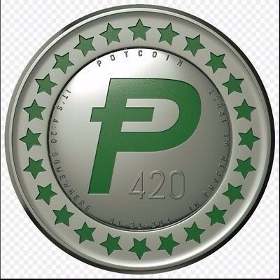 15 POTCOIN DIGITAL CURRENCY To Your Wallet (Within 24 Hours) *Trusted Seller*