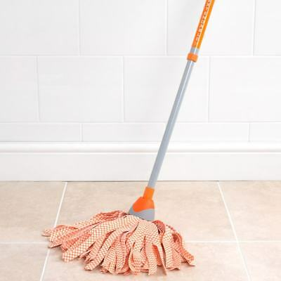 New Style Telescopic Cloth Mop Adjustable Handle Cloth Fibres Everyday use