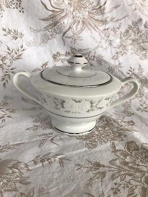 Adele Fine China of Japan Covered Sugar Dish EXCELLENT!!
