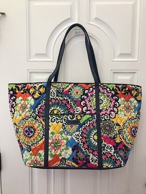 Vera Bradley ~ Trimmed Vera Traveler ~ Rio ~ NEW ~ extra large tote luggage