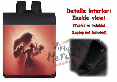 MOCHILA BESTIA Y BELLA FAN ART peli backpack rucksack ES