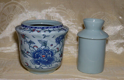 Chinese Porcelain Rice Wine / Sake Tea Warmer Free Shipping