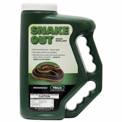 Nisus Snake Out Snake Repellent 4 lb container