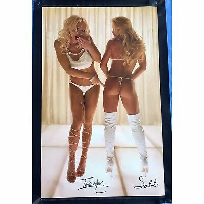 Torrie Wilson & Sable Playboy Shoot WWE Divas 36 x 24 inch Large Poster wwf