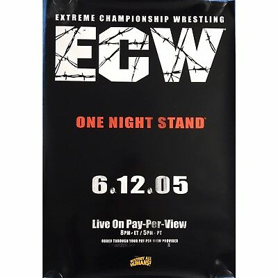 ECW One Night Stand 2005 - Official WWE Wrestling Pay-Per-View PPV Promo POSTER
