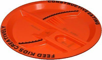 Constructive Eating Construction plate.