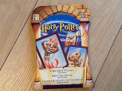 Harry Potter Gnome Fling Toss Card Game New & Sealed