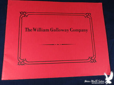 The William Galloway Company 1908 Catalog REPRINT Hit & Miss Gas Engine